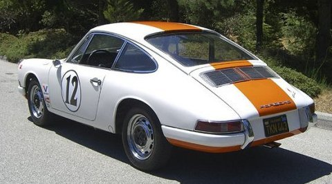 1966_Porsche_912_Rally_Spec_Coupe_Rear_1