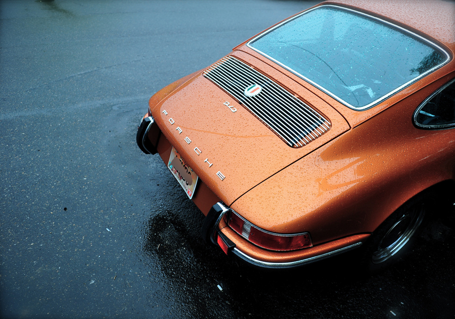 Tangerine-Porsche-912-Portland-OR